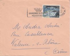 MONACO SEUL SUR LETTRE POUR LA FRANCE 1963 - Covers & Documents