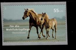 Bund 2635 Pferde Horse Postfrisch MNH ** Selbstkebend - Nuevos