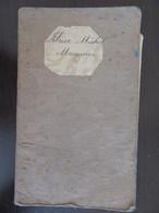 Livret D'ouvrier (Menuisier) De Montfrin Daté 1884 - Contient En Plus Un Manuscrit Et Une Photo - Documenti Storici