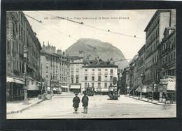 CPA - GRENOBLE - La Place Grenette, Animé - Grenoble