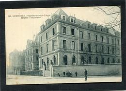 CPA - GRENOBLE - Etablissement De L'Aigle - Hôpital Temporaire, Animé - Grenoble