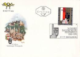 Austria FDC 1970 50 Jahre Salzburger Festspiele (G119-73) - FDC