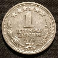 YOUGOSLAVIE - YUGOSLAVIA - 1 DINAR 1968 - KM 48 - Yugoslavia