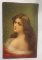 Künstlerkarte, Frauen, Mode, 1909, Beautiful Heads ♥ (70935) - 1900-1949