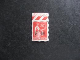 C). TB  F.M. N° 7a, Neuf XX . - Franchise Stamps