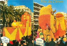 Menton - Fete Du Citron - Alice Aux Pays Des Merveilles    AN 263 - Menton