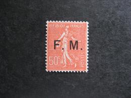 A). TB  F.M. N° 6, Neuf XX . - Franchise Stamps