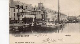 Leuven Louvain Souvenir De  Le Canal  Verzonden 1903 - Leuven