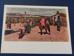 "Mongolia,  Stroganov ""Bazaar"" 1965 Market - Mongolia"