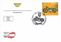 Austria 2021 - Gigant 600 FDC - 2011-2020 Nuovi & Linguelle