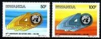 Rwanda Ruanda 1985 OBCn° 1243-44 *** MNH  Cote 5 Euro - 1980-89: Nuevos