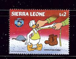 Sierra Leone 663A MNH 1984 Donald Duck - Sierra Leone (1961-...)