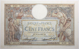 France - 100 Francs - 14-12-1933 - PICK 78c / F24.12 - TTB+ - 100 F 1908-1939 ''Luc Olivier Merson''