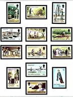 Pitcairn Is 163-73 MNH 1977-81 Definitive Set - Pitcairneilanden