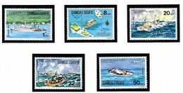 Samoa 415-19 MNH 1975 Ships - Samoa
