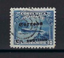 ⭐ Costa Rica - YT N° 80 A - Oblitéré - 1911 ⭐ - Costa Rica