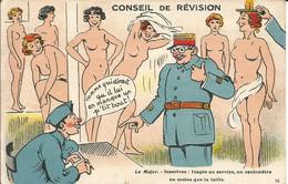 Humour. Conseil De Révision De J.Nozais - Humour