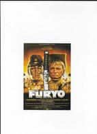 Film FURYO - Affiches Sur Carte
