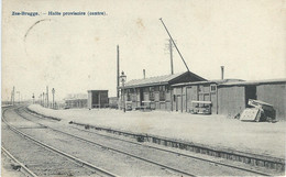 ZEEBRUGGE : Halte Provisoire (Centre) - RARE CPA - Cachet De La Poste 1907 - Zeebrugge