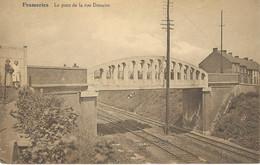FRAMERIES : Le Pont De La Rue Donaire - RARE CPA - Frameries