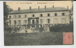 MEULAN (environs) - EVECQUEMONT - Le Château - Other Municipalities
