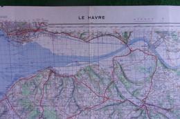 Carte Géographique - France - Seine Maritime - Le Havre - Échelle 1 / 100.000 - Cartes Géographiques