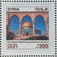 Syria NEW MNH 2021 Issue - Al Quds Day, Jerusalem, Palestine - Siria