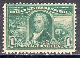 1904 1 Cent Louisiana Purchase, Mint Never Hinged - Unused Stamps