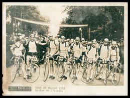 Cyclisme - Tour De France - Equipe De L'Ouest - 1939 - Edit. PARIS SOIR - Cycling