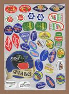 AC - FRUIT LABELS Fruit Label - STICKERS LOT #70 - Frutas Y Legumbres
