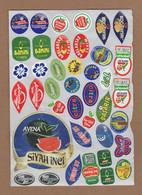 AC - FRUIT LABELS Fruit Label - STICKERS LOT #73 - Frutas Y Legumbres