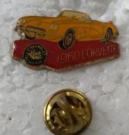 Pin's - Automobiles - CORVETTE - 1960 - - Corvette