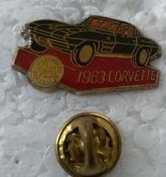 Pin's - Automobiles - CORVETTE - 1963 - - Corvette