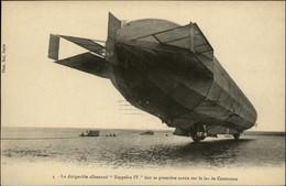 AVIATION - Dirigeables - Zeppelin IV - Aérostation Militaire - Lac De Constance - Airships