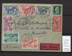 France - ROUEN AVIATION - 29/09/1923 - Avec Vignettes - Air Post