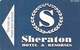 EGYPT - Sheraton, Hotel Keycard, Used - Hotel Keycards
