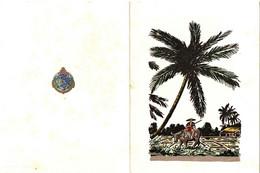INDOCHINE /VIETNAM . CARTE DE VOEUX MILTAIRE - Documenti Storici