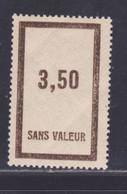 FRANCE FICTIF N°  F43 ** MNH Timbre Neuf Gomme D'origine Sans Trace De Charnière - Petits Plis, B/TB - Phantomausgaben