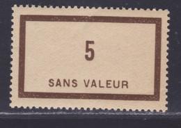 FRANCE FICTIF N°  F44 ** MNH Timbre Neuf Gomme D'origine Sans Trace De Charnière - TB - Phantomausgaben