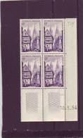 N° 979 - 12F QUIMPER - 1° Tirage Du 6.5.54 Au 30.7.54 - 10.05.1954 - 2 Traits - - 1950-1959
