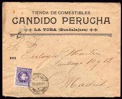 "España - Edi O 246 - Mat Ambulante ""Mixto Asc 30/4/07 - 8 Mad - Zaragoza"" Con Publicidad ""Tienda Comestibles .."" - Cartas"