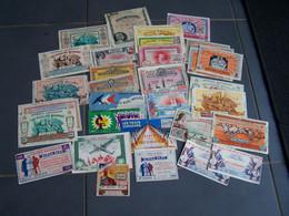 """LOT De 34 Anciens Billets Français De LOTERIE NATIONALE  """" DIVERS """"  (Voir Photos Et Détail) - Billets De Loterie"""