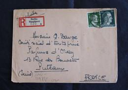 * - Lettre Recommandée De Berlin Haselhorst Du 16/07/43 Pour Puteaux - Ouvert Par La Censure - Geöffnet OKW - BMW ? - Covers & Documents