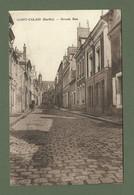 CARTE POSTALE 72 SARTHE SAINT CALAIS GRANDE RUE - Saint Calais