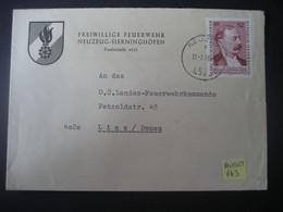 Österreich 1972- Geschäfts-Beleg Der Feuerwehr Neuzeug-Sierninghofen Mit Tagesstempel, Auf MiNr. 1403 - 1971-80 Covers