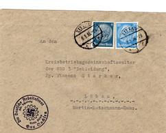 Brief Deutsches Reich Gau Sachsen Zittau 9.3.1936 - Zonder Classificatie