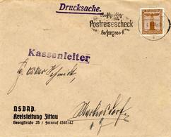 Drucksache Brief Deutsches Reich NSDAP Kreisleitung Zittau Vom 3.6.1938 - Zonder Classificatie