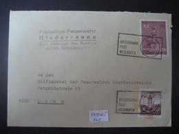 Österreich 1972- Geschäfts-Beleg Der Feuerwehr Niederranna Wesenufer Mit Werbestempel, Auf MiNr. 1382 - 1971-80 Covers