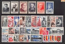 1954 Année Complète Neufs ** Cote 315 Euros PARFAIT état TTB - 1950-1959