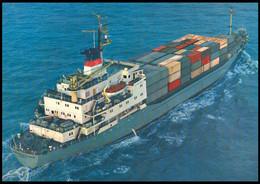 "RUSSIA POSTCARD Mint BALTIC SHIPPING Leningrad SHIP ""ALEXANDR PROKOFIEV"" CARGO BATEAU SCHIFF TRANSPORT BSCo K1 USSR - Commercio"